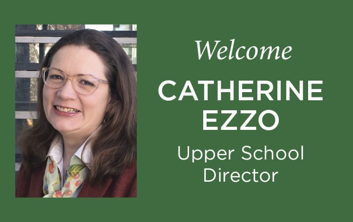 Catherine Ezzo Upper School Director Charles Wright Academy