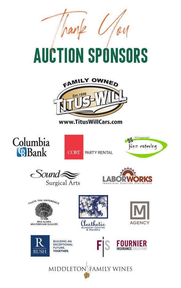 2019 auction sponsors