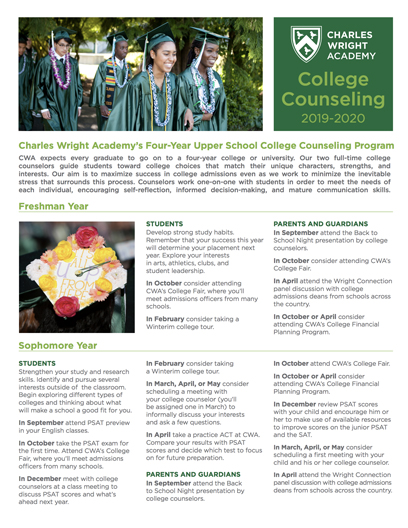 CWA College Counseling Overview