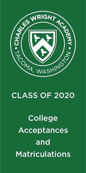 Class of 2020 College Acceptances and Matriculations