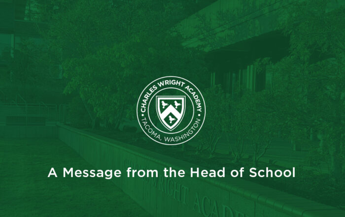 A Message from the Head of School
