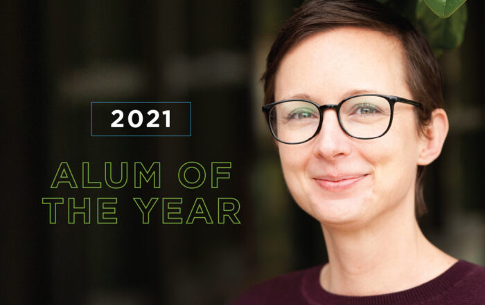 2021 Alum of the Year Laura Malcolm '00