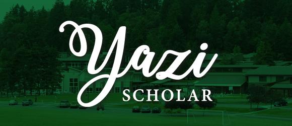 "White text ""Yazi Scholar)"